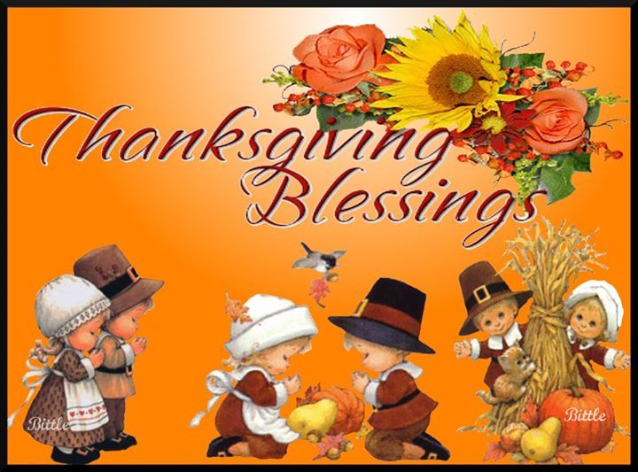 Happy Thanksgiving Blessing
