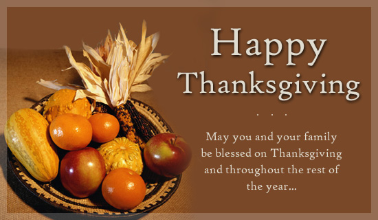 Thanksgiving 2017 Wishes