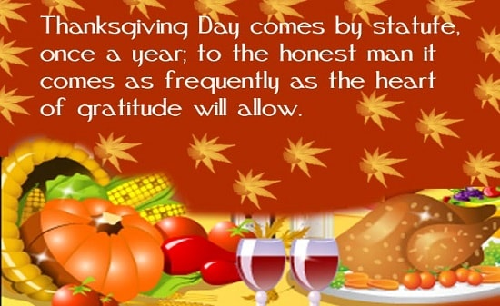 Happy Thanksgiving 2017 Wishes