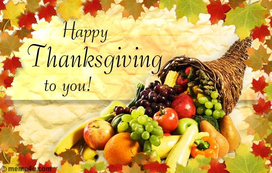 thanksgiving greeting message