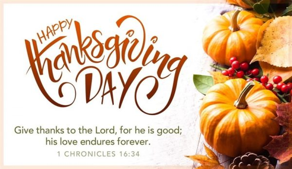 Thanksgiving Day Prayer Images