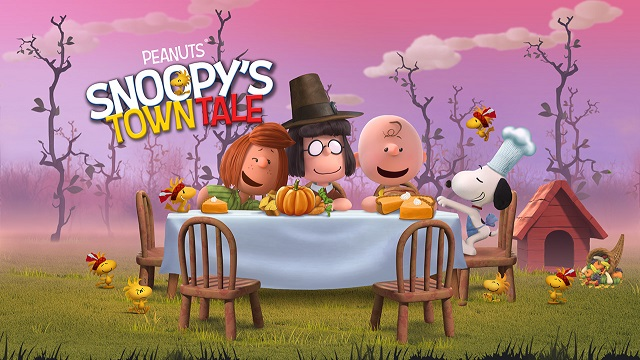Peanuts Happy Thanksgiving Images