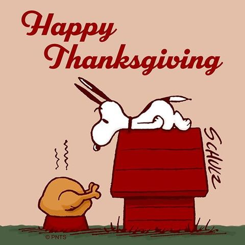 Snoopy Thanksgiving Day Images
