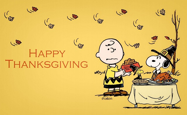 Thanksgiving Cartoon Wallpaper