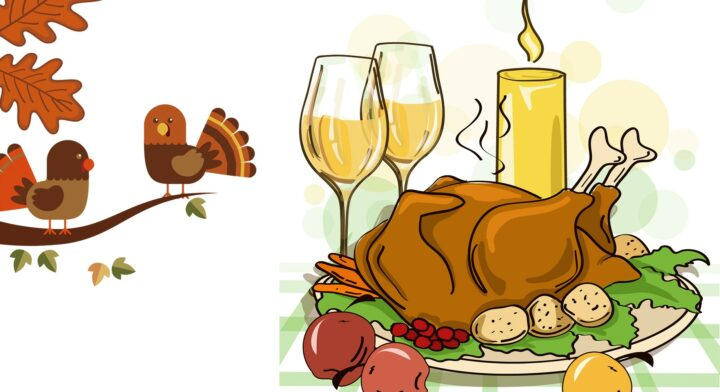 Thanksgiving Dinner Cartoon Pictures